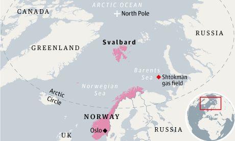 kart svalbard norge Kart Over Svalbard Og Norge | Kart