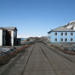 Gatebilde fra Barentsburg